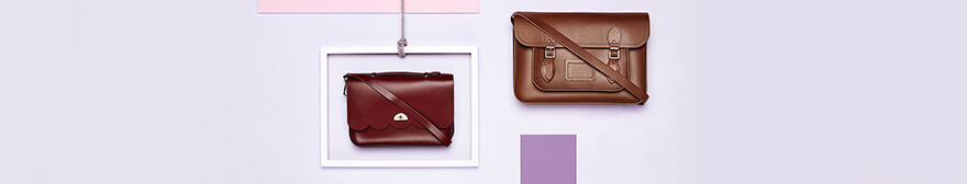 satchels from The cambridge satchel company