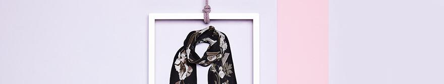 rockins floral scarf