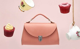 Cambridge Satchel Leather Poppy Bag #MyBagXCSC