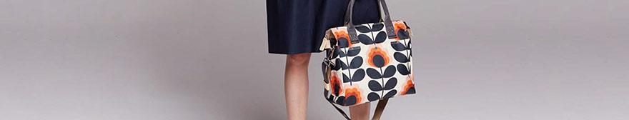 Orla Kiely floral bag