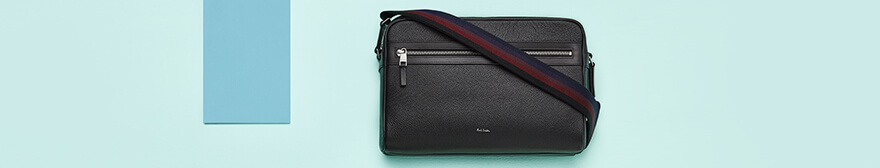 men's paul smith leather bag