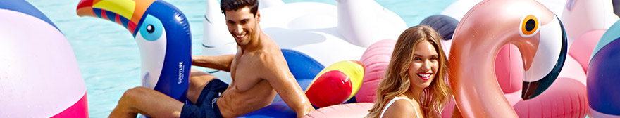 Sunnylife pool inflatables and towels