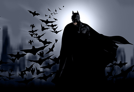 Batman's Birthday Banner