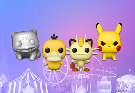 Pokemon S6 Funko Pop Vinyl Figures