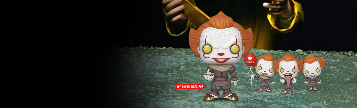 New IT Chapter Two Pop! Vinyls Available for Pre-Order Now!