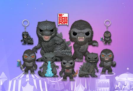Godzilla VS Kong NEW POPS