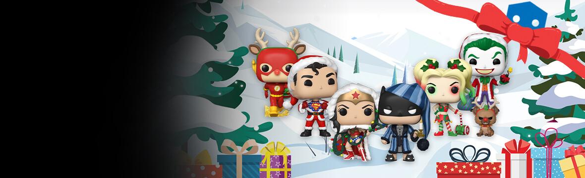 Neue DC-Weihnachten Pops!