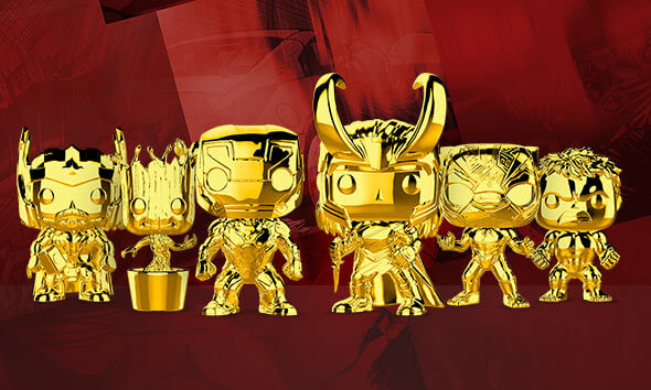 MARVEL GOLD CHROME
