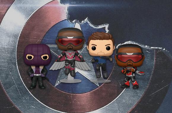 Falcon & The Winter Soldier Pops!
