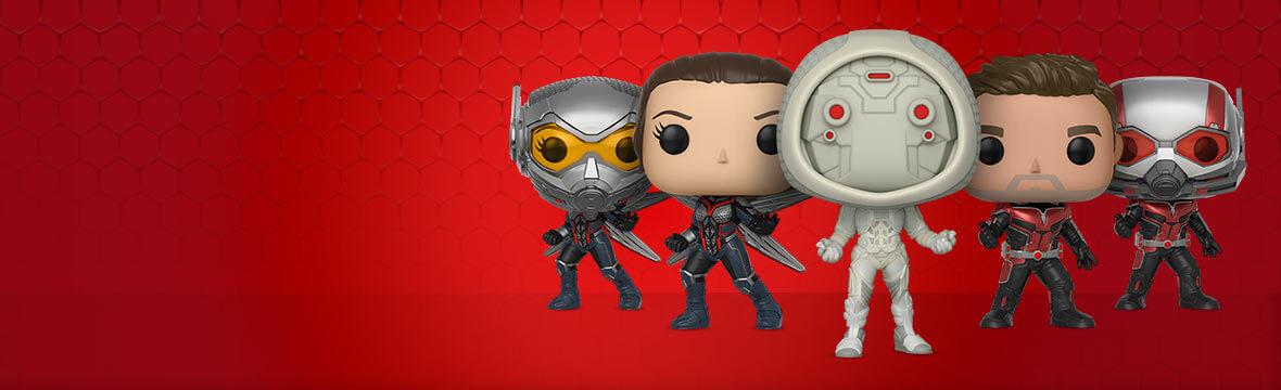 ANT-MAN AND THE WASP POP! VINYL