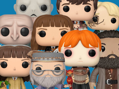 ¿Quieres recibir la magia de Hogwarts en casa? Suscríbete a Pop In A Box y recibe tu provisión mensual de Funko Pop! con los personajes de la Saga Harry Potter: Te esperan Snape, Ron y muchos más... ¡Completa tu colección!