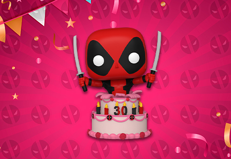 Deadpool in cake Funko Pop Vinyl Figures