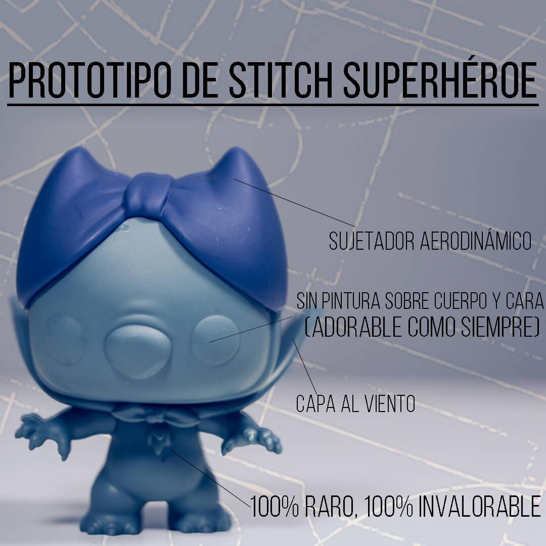 El Prototipo De Stitch Superhéroe