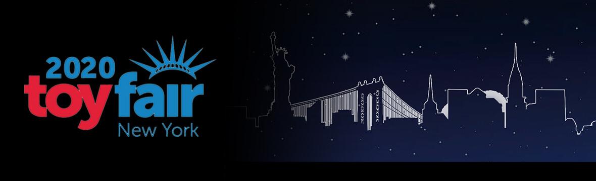 C'EST LE JOUR-J: NEW YORK TOY FAIR 2020!