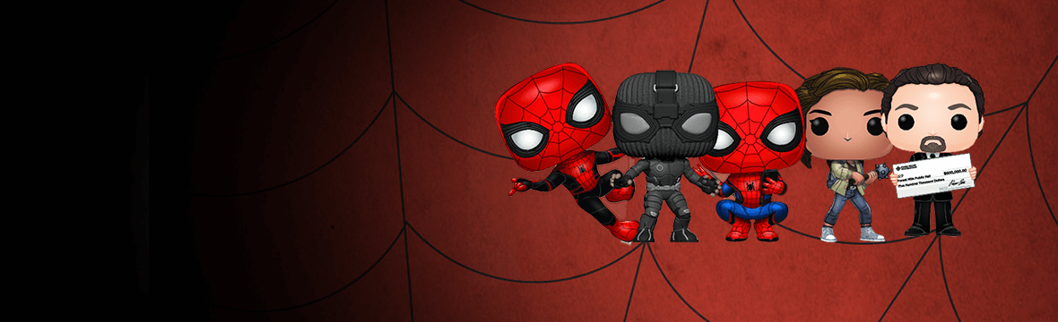 🗽🕷 SPIDER-MAN FAR FROM HOME POP!