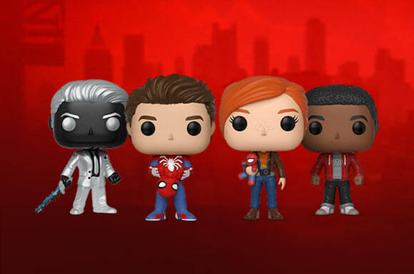 SPIDERMAN POP! VINYL!