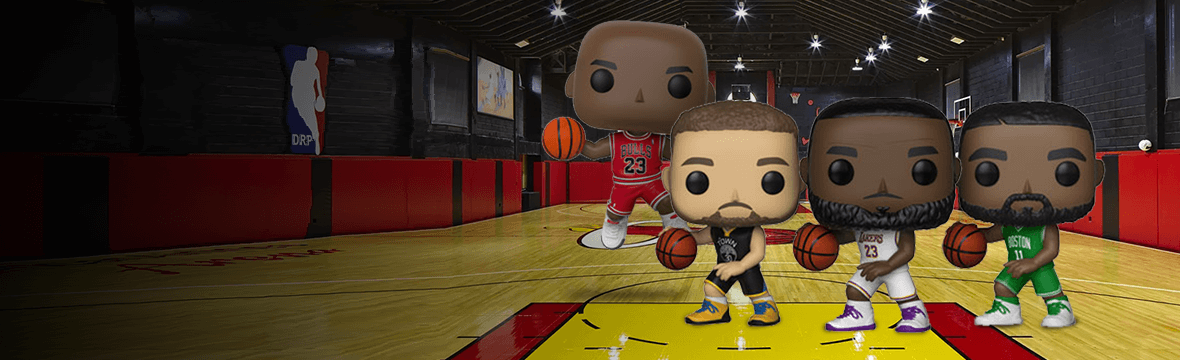 Nuovi Funko Pop! NBA<br>Michael Jordan, Lebron James e tanti altri! 🏀