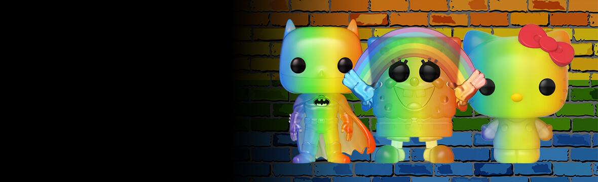 Pride Rainbow Funko Pops