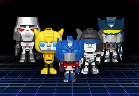 NEW IN:<br>TRANSFORMERS!
