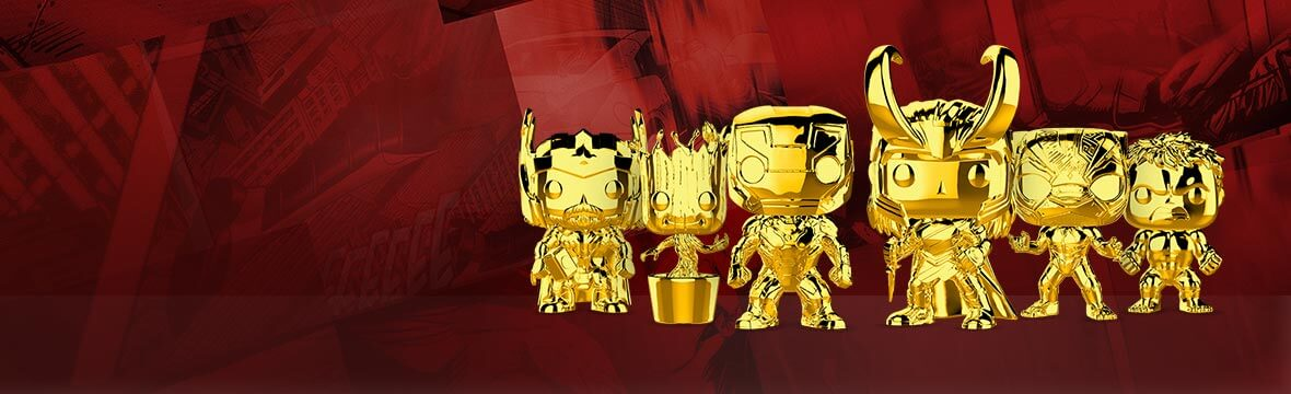 MARVEL GOLD CHROME!