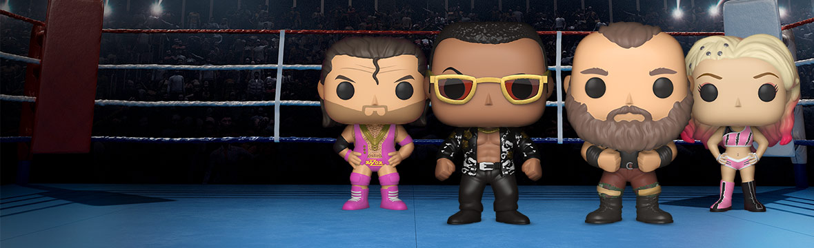 NEW WWE POPS