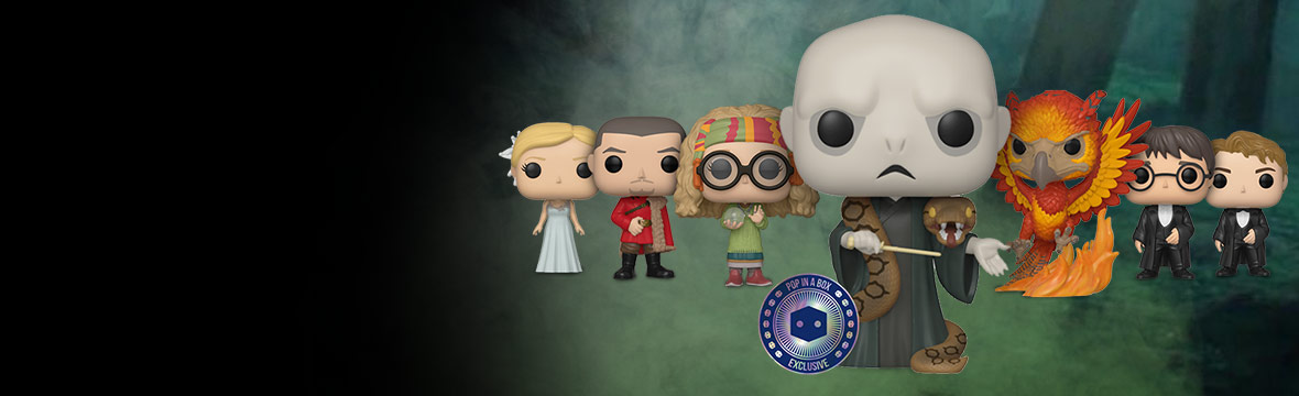 NEW PIAB EXCLUSIVE<br>VOLDEMORT WITH NAGINI POP! VINYL
