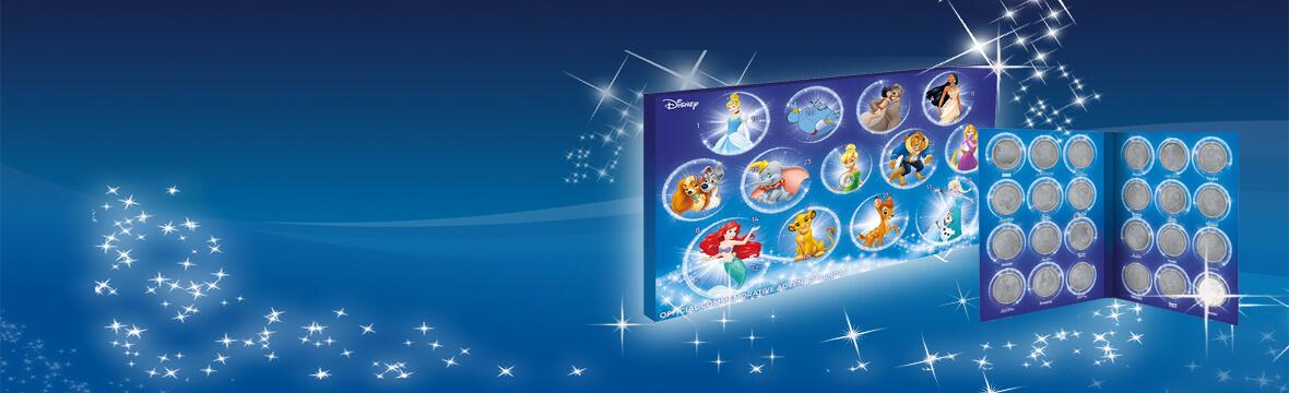 Exklusiver Disney Sammlermünzen Adventskalender