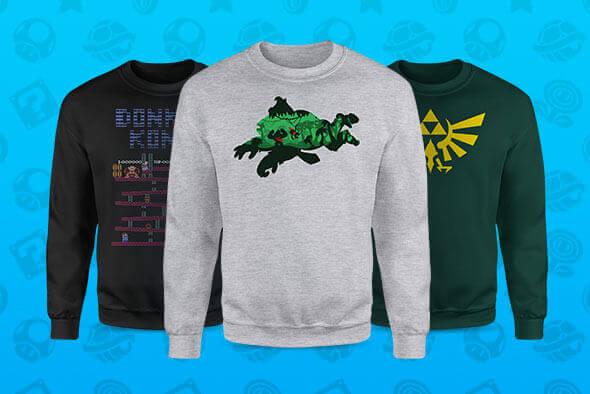 Nintendo Sweatshirts