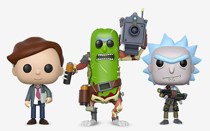 Rick and Morty Pop! Vinyl