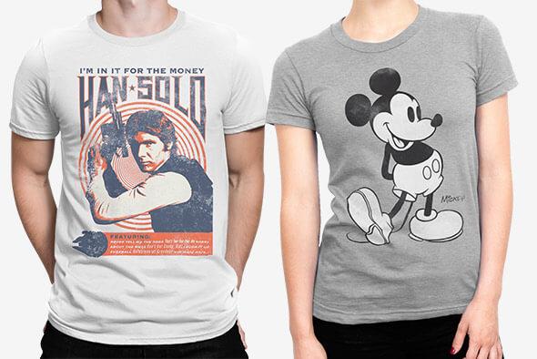 2 T-Shirts für 24€