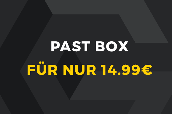 PAST BOX FÜR NUR 14,99€