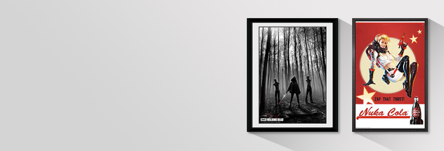 Framed Posters and Prints | My Geek Box