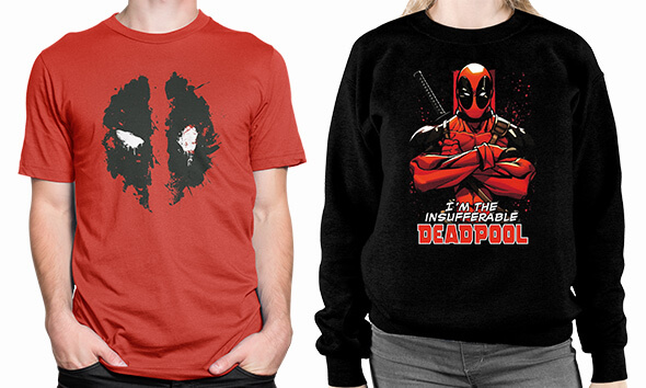 UP TO 40% OFF MARVEL CLOTHING