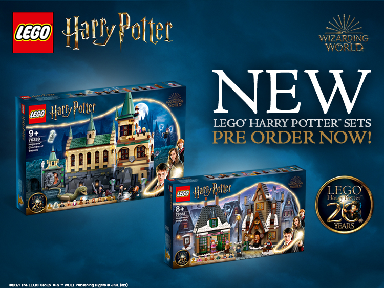 NEW LEGO Harry Potter Pre-Order