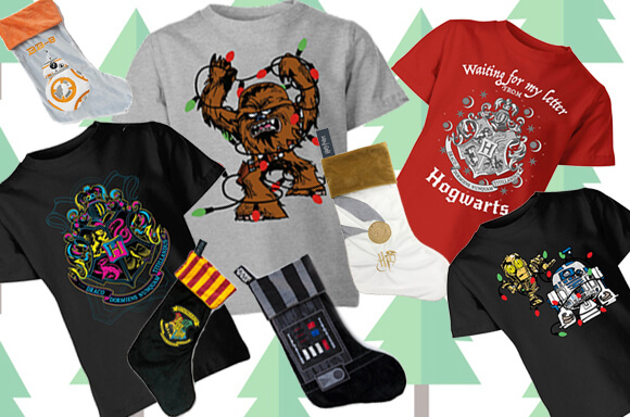 FREE OFFICIALLY LICENSED <br>XMAS STOCKING WITH £14.99 KIDS TEE!