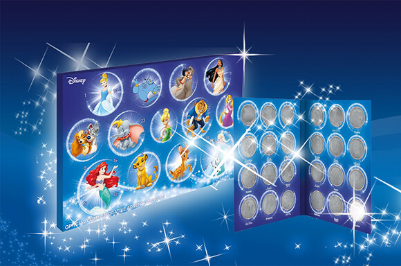 Calendario de adviento exclusivo disney