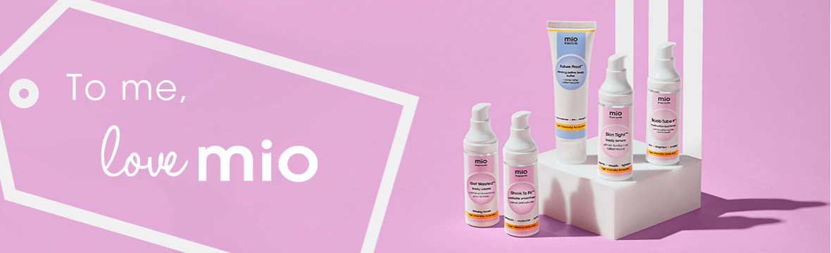 Free Mio Self-Care Kit when you spend £55!