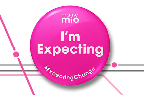 Mama Mio pregnancy badge