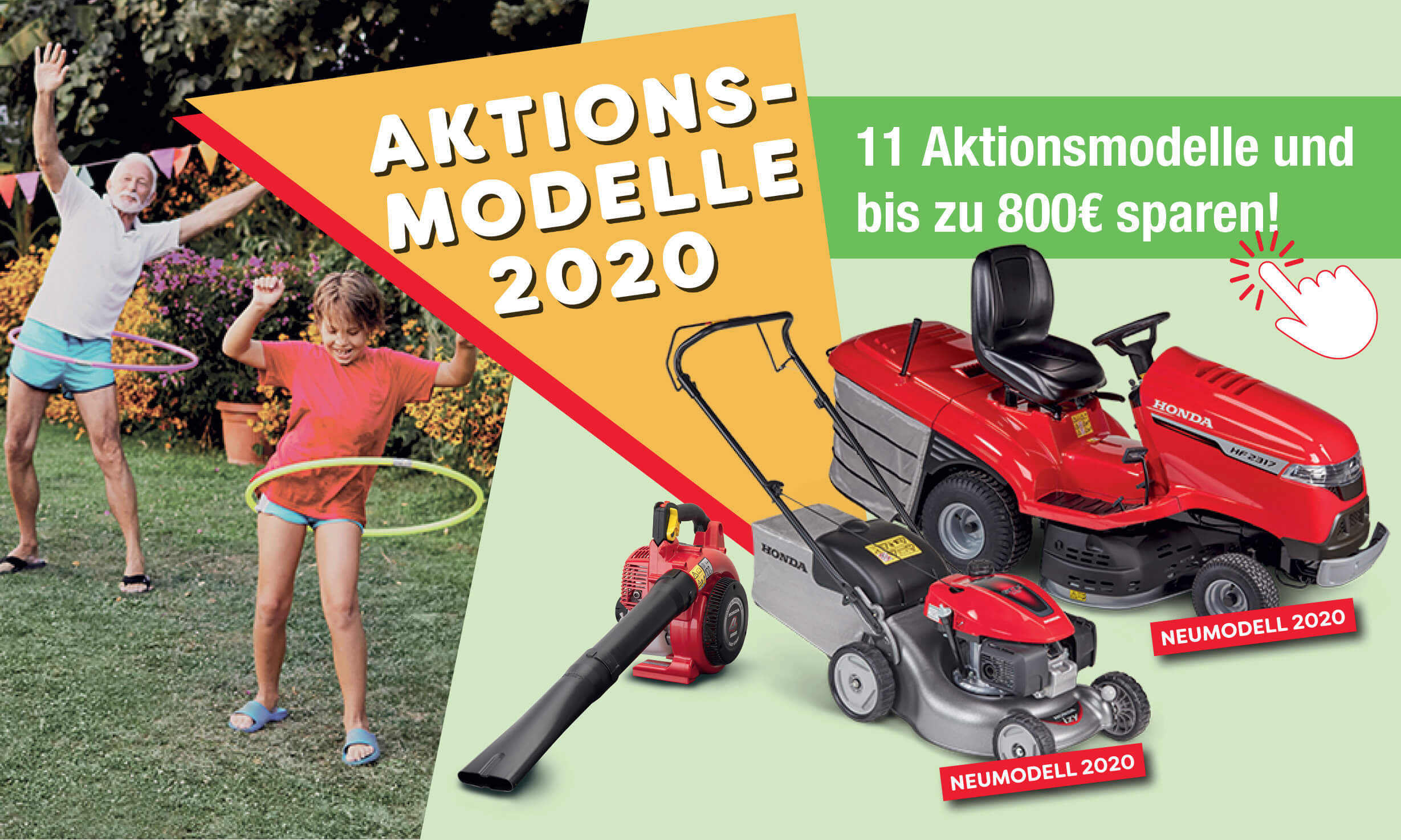 Honda Aktionsmodelle 2020
