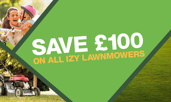 Honda Izy Lawnmower Offer 2019