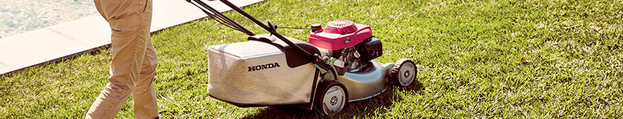 Discover Honda's HRG Lawnmower Range