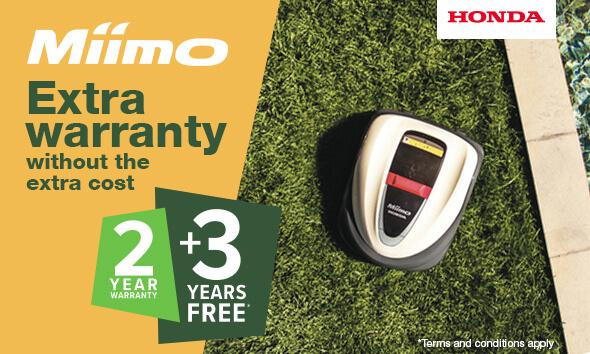 Honda Miimo Extra Warranty
