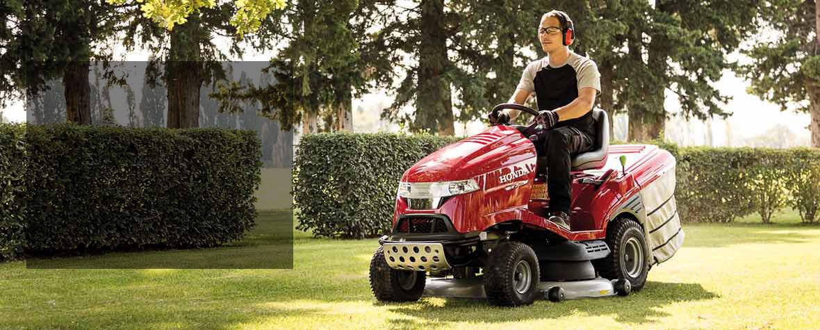 Honda Ride On Lawn Mower