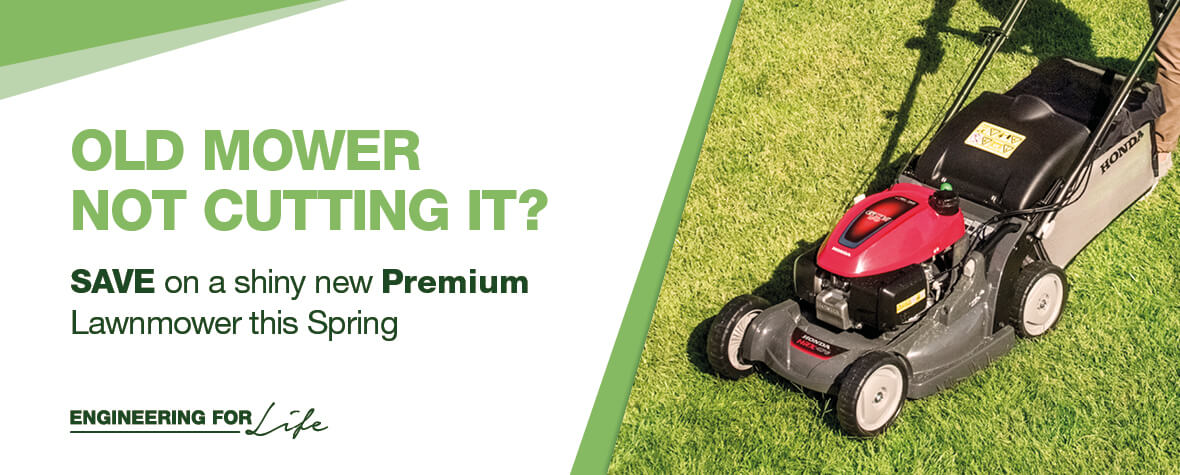 Honda HRX Lawn Mower