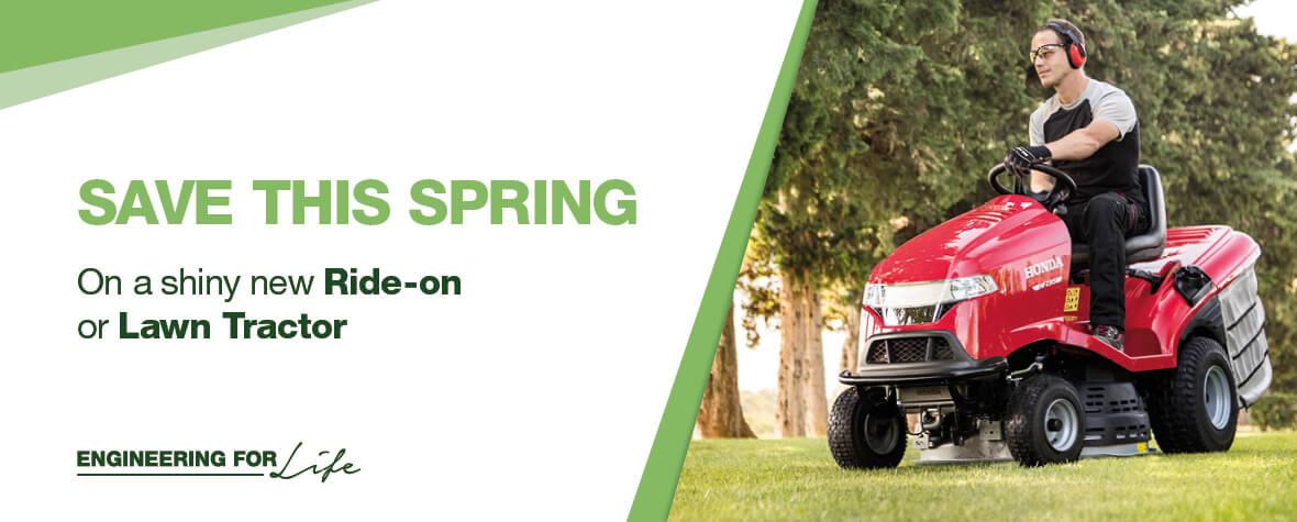 Honda Ride On Lawn Tractor