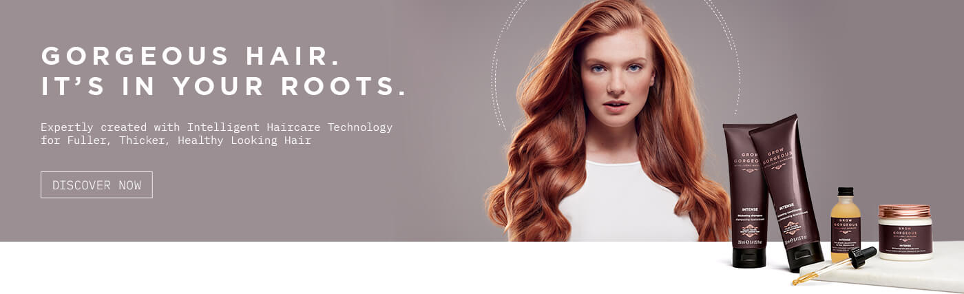 Gorgeous hair. It's in your roots. Expertly created with intelligent haircare technology for fuller, thicker, healthy looking hair. Click to view all