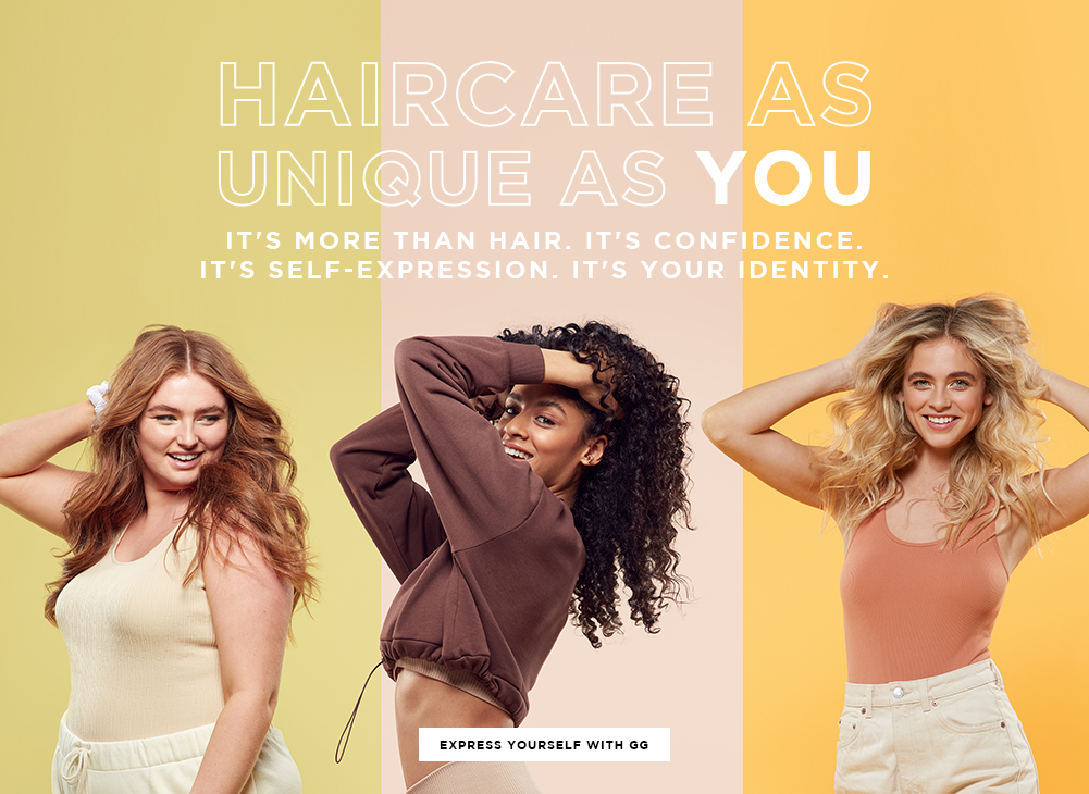 Haircare as unique as you. Click to shop to shop all