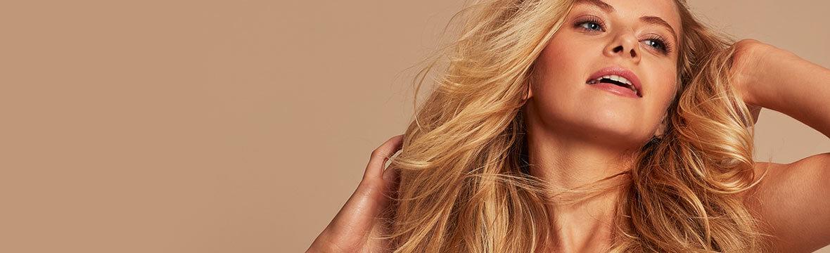 Healthy Blonde Model