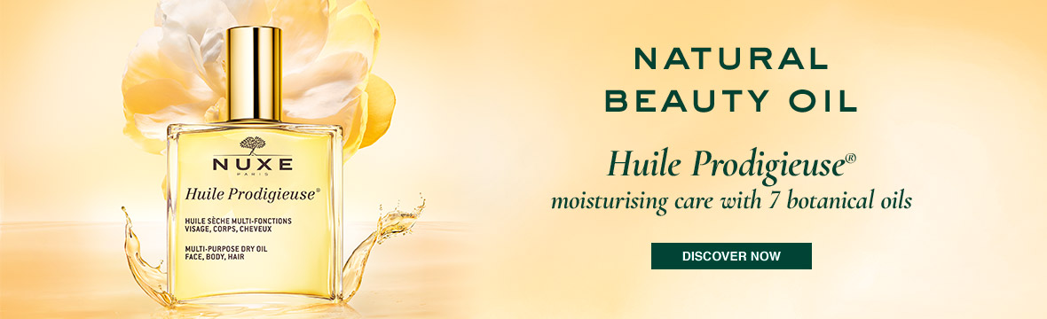 Natural Beauty Oil, Huile Prodigieuse, moisturing care with 7 botanical oils, discover now