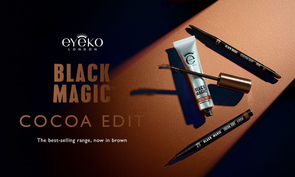 Eyeko Cocoa Edit - Black Magic now in an intense brown shade